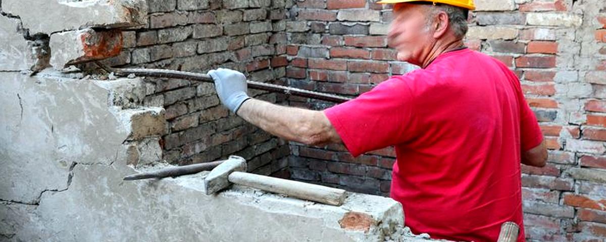 Servicios Profesionales derribos de muros y tabiques en Valencia